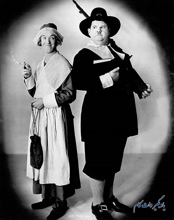 استن لورل و اولیور هاردی سال 1930