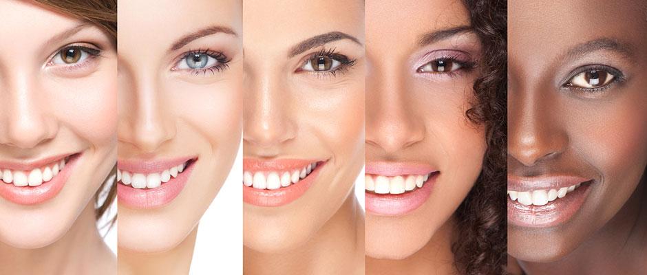 شناخت نوع پوست در بهترین کرم های سفید کننده پوست