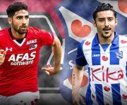 شب درخشان ایرانی ها در لیگ فوتبال هلند