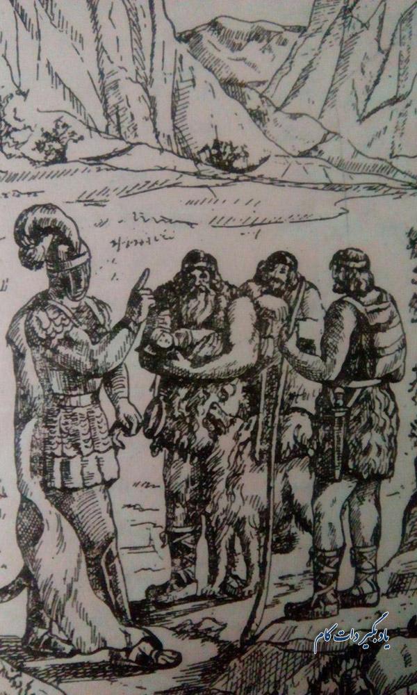 زاده شدن کیخسرو و سپردن او به شبانان؛ داستان شاهنامه