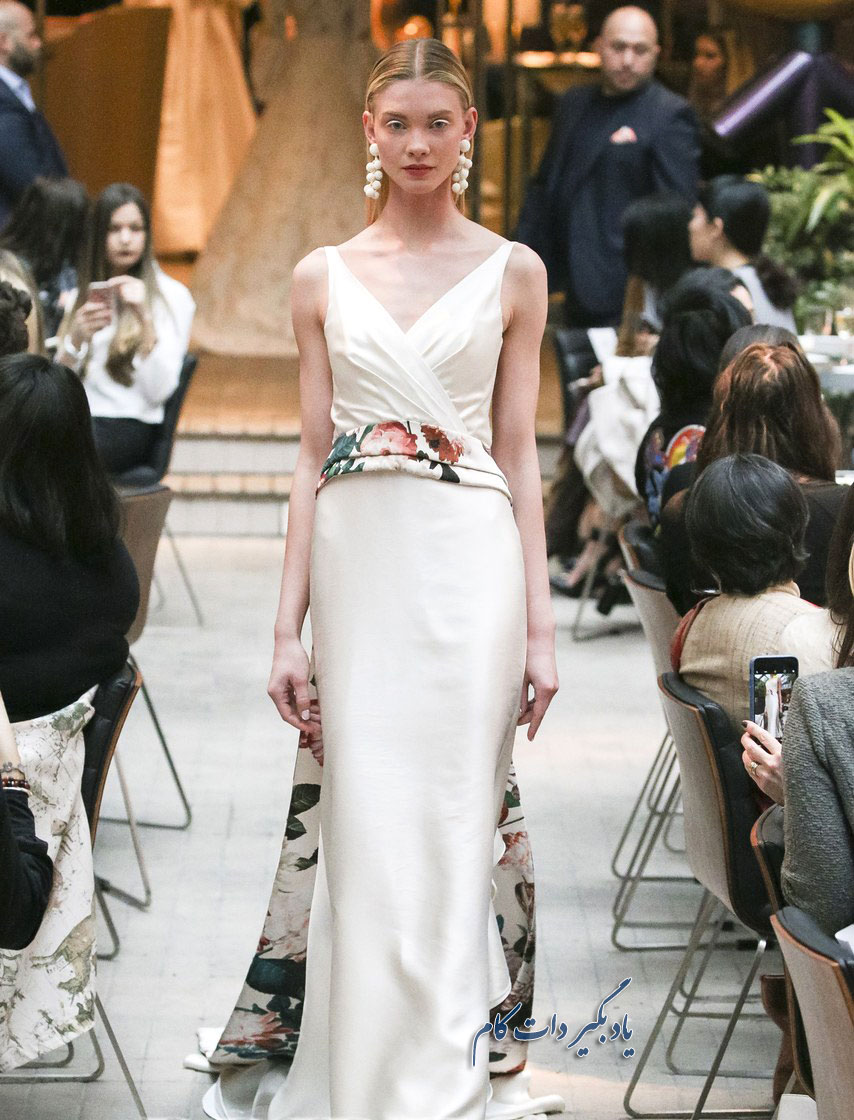 مدل های شیک لباس عروس رنگی