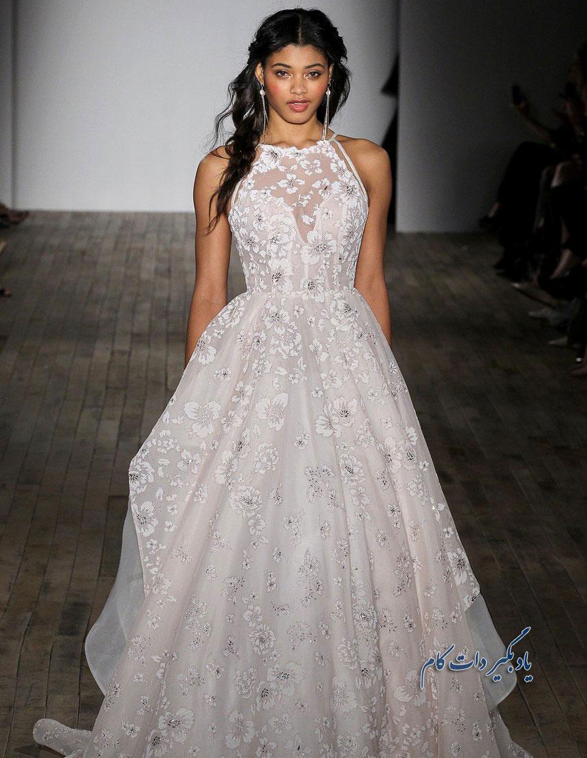 جذاب ترین لباس عروس های رنگی