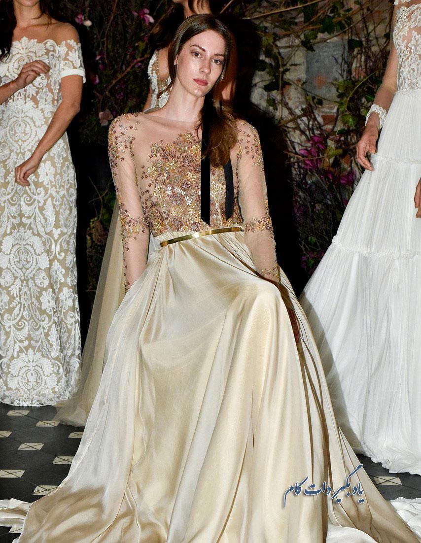 لباس عروس های متفاوت و شیک 2018