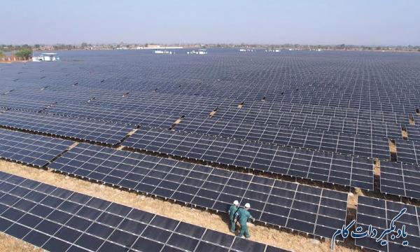 بزرگترین نیروگاه تولید انرژی خورشیدی جهان