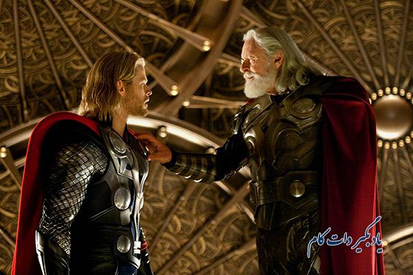 قطعه ای از فیلم Thor به زبان انگلیسی