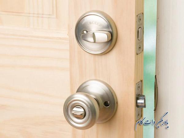 نصب قفل کلید