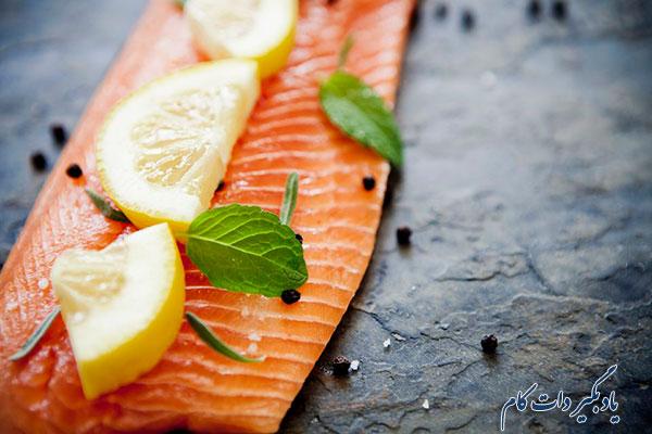 مزه دار کردن ماهی و غذاهای دریایی