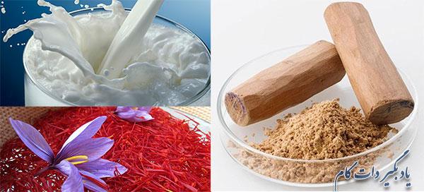 چگونه از زعفران برای پوست استفاده کنیم