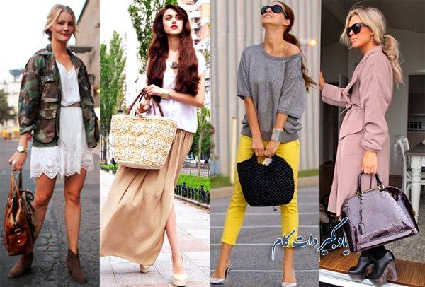 ست مناسب کیف و کفش برای زنان