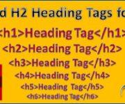 تگ های عنوان H1 تا H6