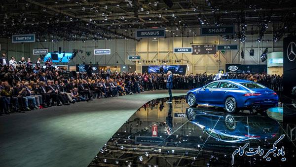 نمایشگاه خودروی ژنو معرفی بامو