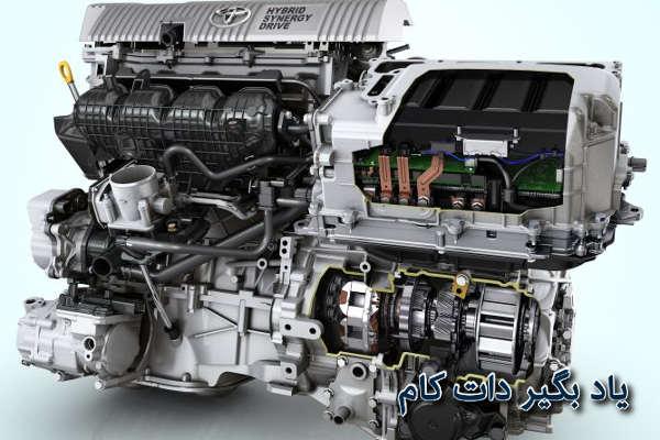 موتور هیبریدی تویوتا پریوس