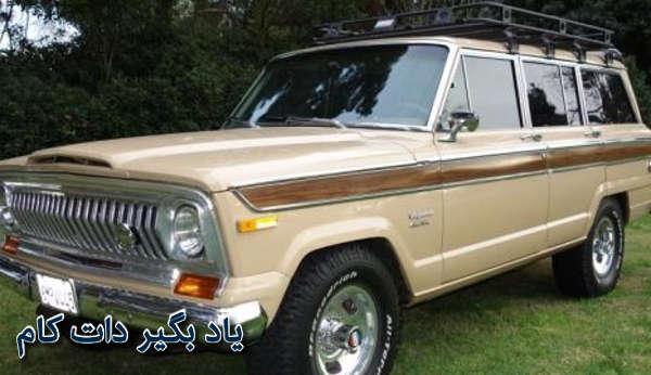 خودروی جیپ چروکی دهه ی 1980