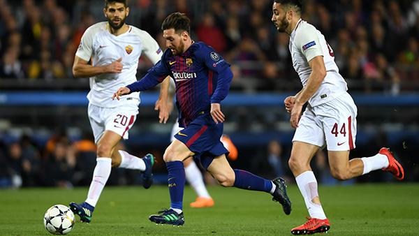 پیروزی پر گل بارسلونا در مقابل رم