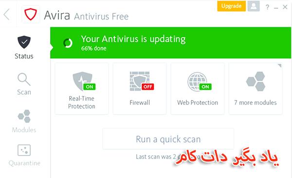 معرفی آنتی ویروس آویرا رایگان و برتر 2018