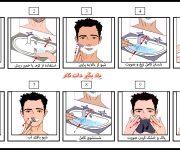 مراحل شیو یا اصلاح صورت مردان