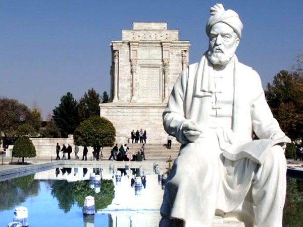 حکیم ابوالقاسم فردوسی دفن در باغ او