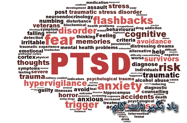 اختلال استرس پس از سانحه، نشانه ها