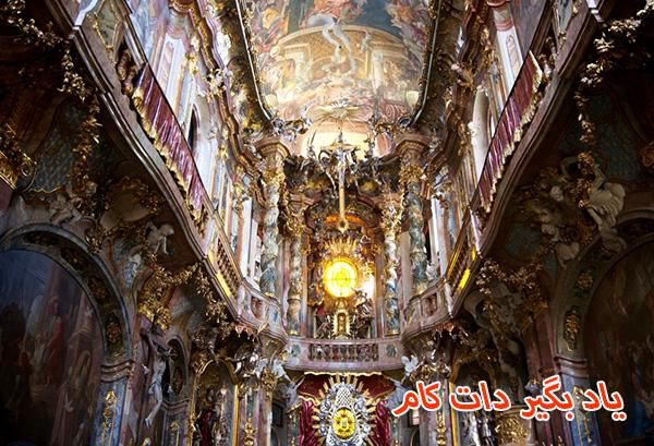 کلیسای آسام گردشگری مونیخ