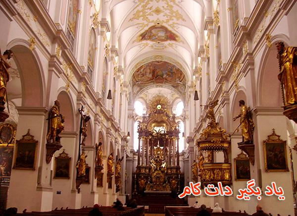 کلیسای پیتر مقدس گردشگری مونیخ