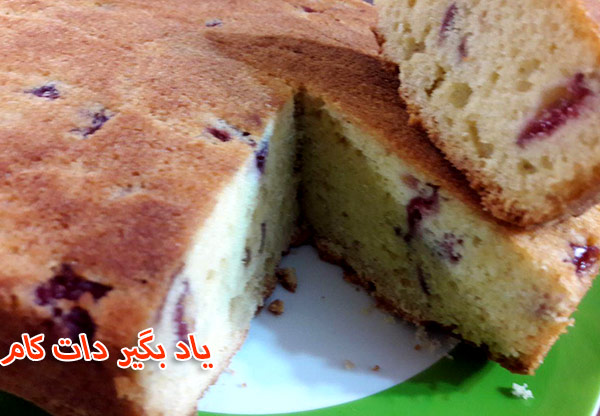 طرز تهیه کیک گیلاس