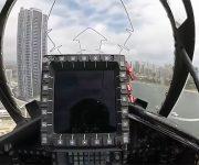 مانورهای بی نظیر جنگنده ها را از دید خلبان ببینید