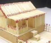 کاردستی خانه کبریتی برای کودکان