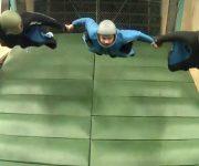 فیلم پروازی پر هیجان در تونل باد