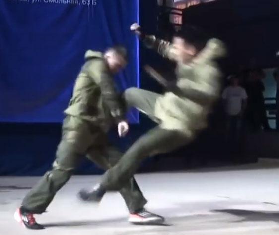 مبارزات هنر های رزمی نیروهای ویژه جهان