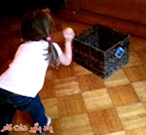بازی انداختن توپ در جعبه