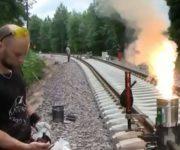 جوشکاری ترمیت ریل راه آهن
