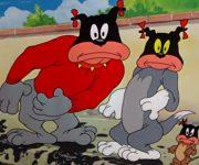 کارتون زیبای تام و جری این داستان دوستی سه نفره موش سگ و گربه