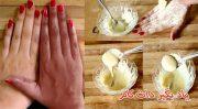ماسک پوست آرد برنج خاصیت روشن کنندگی