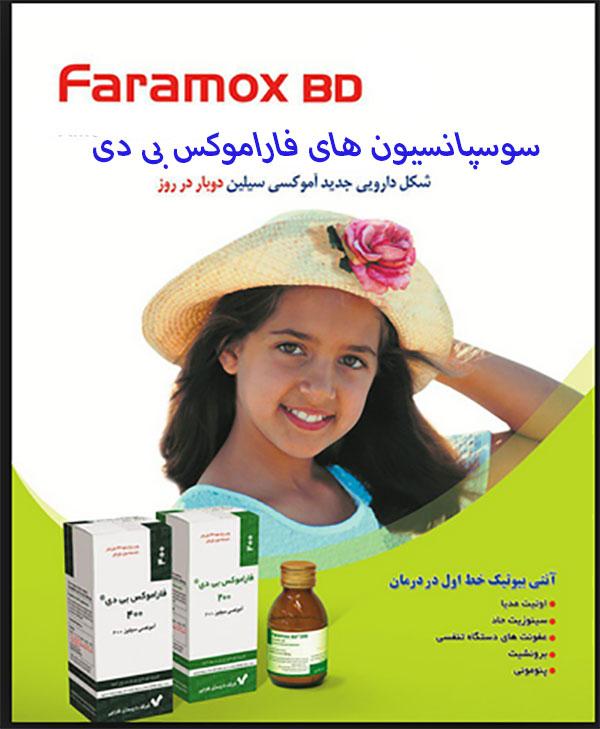 راهنمای داروی فاراموکس بی دی