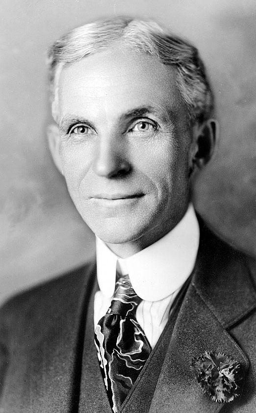 هنری فورد بنیانگذار شرکت فورد