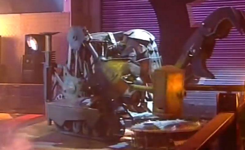 نبرد گروهی ربات ها