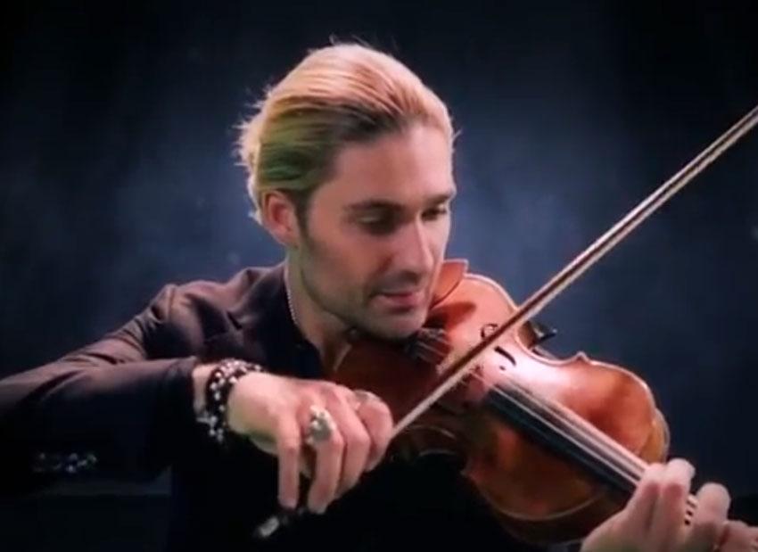 موسیقی ویلون و دیوید گرت
