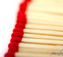 قرمز نماد گرما و آتش در عکاسی