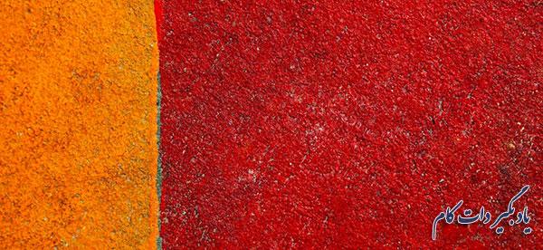 حضور مستمر رنگ قرمز در هنر های تجسمی