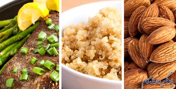 رژیم غذایی هفتگی در ورزش بدنسازی