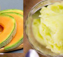 طرز تهیه بستنی طالبی خانگی