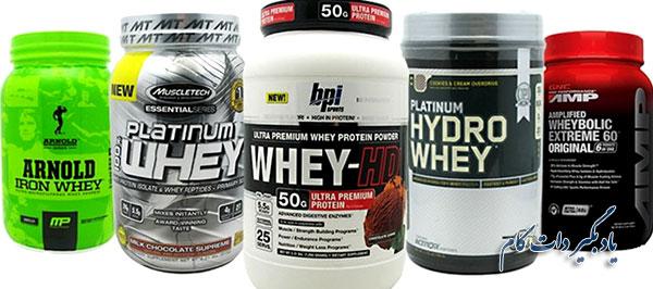 مکمل پروتئینی از بهترین ها برای عضله سازی