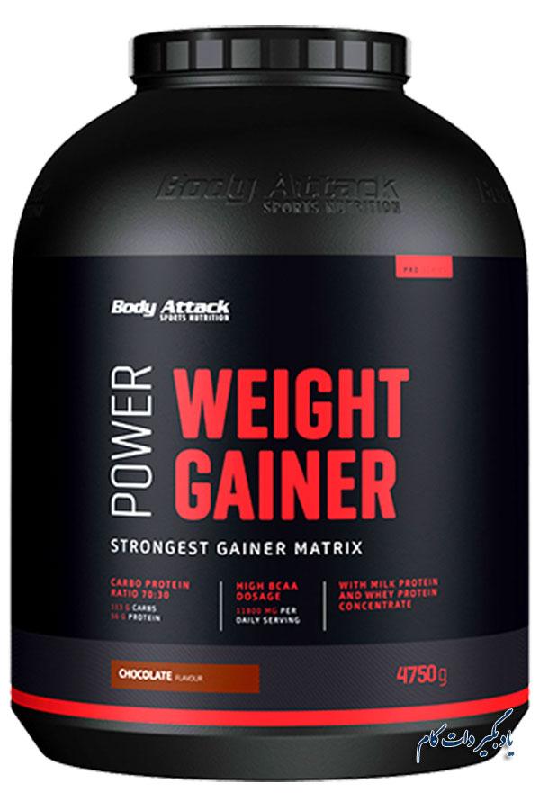 مکمل گینر وزن از بهترین ها برای عضله سازی