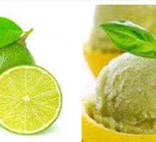 طرز تهیه بستنی لیمویی