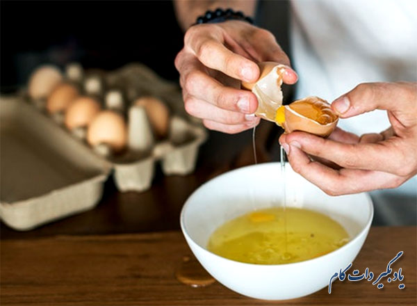 نتایج خوردن سه تخم مرغ در روز