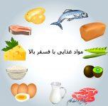 خوراکی های سرشار از فسفر