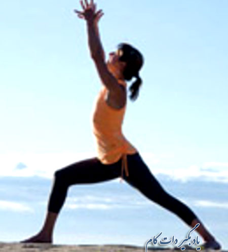 حرکت جنگجو یوگا برای کوهنوردان