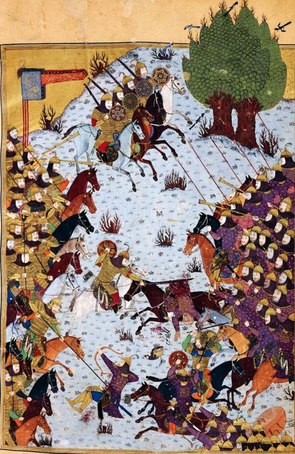 داستان شاهنامه، بخشیدن طوس و لشکر کشی به توران