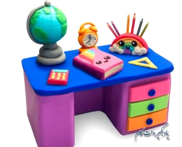 خمیر بازی برای بچه ها