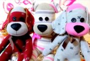 آموزش ساخت سگ عروسکی پاپی با جوراب